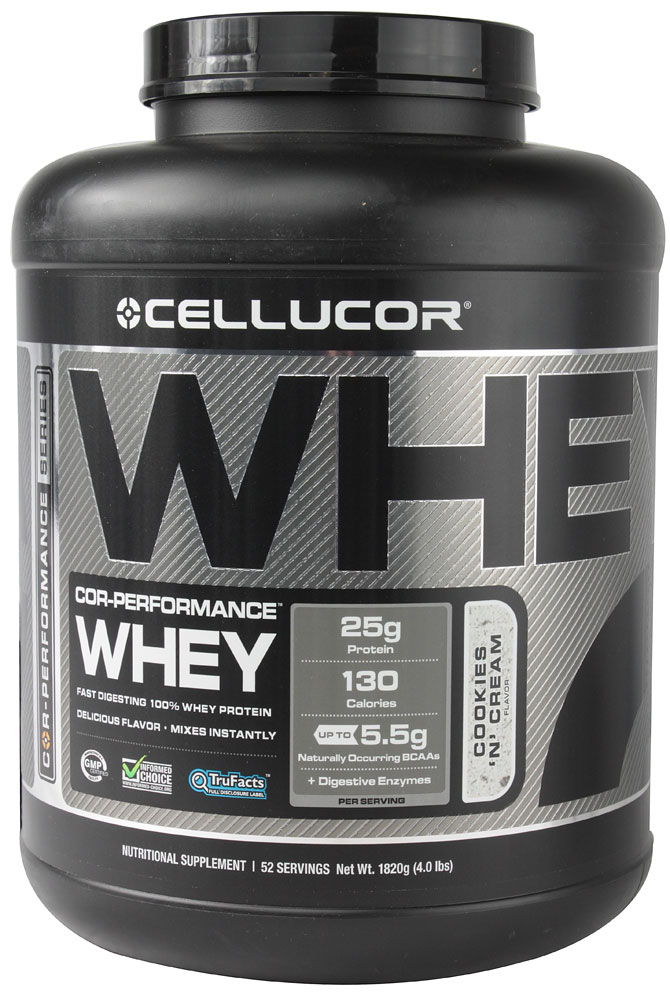 COR-Performance Whey By Cellucor, Cookies and Cream 5lb