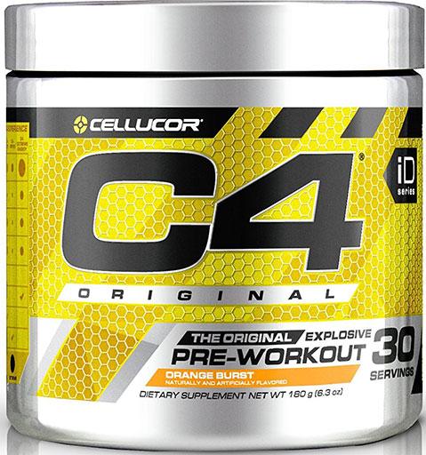 C4 By Cellucor, Original, Orange Burst 60 Servings