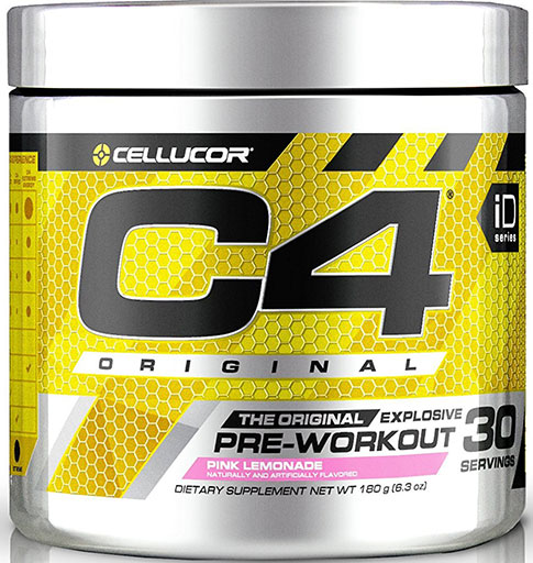 C4 - Pink Lemonade - 30 Servings