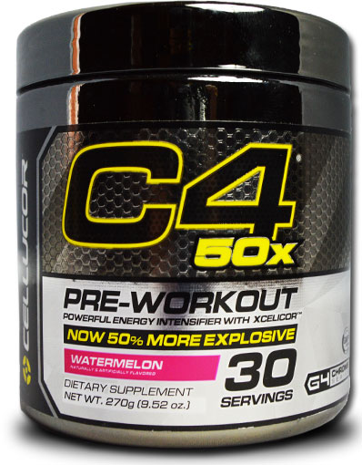 C4 50X By Cellucor, Watermelon 30 Servings