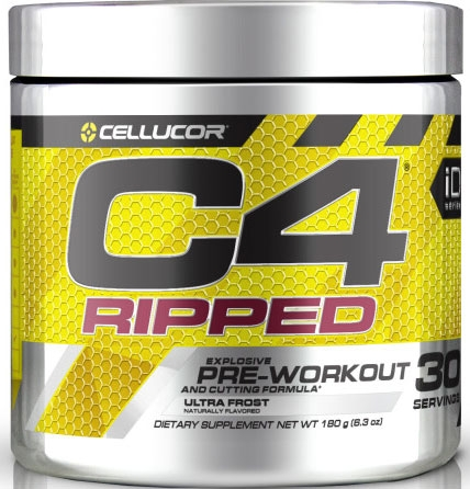 C4 Ripped By Cellucor, Ultra Frost 30 Servings