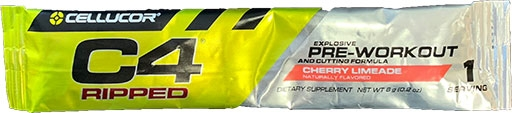 C4 Ripped By Cellucor, Cherry Limeade, Sample Packet