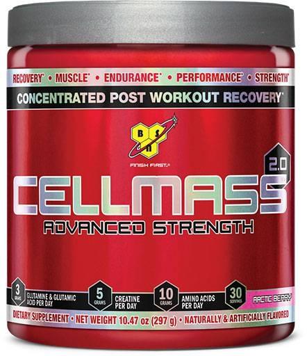 Cellmass 2.0 By BSN, Artic Berry 30 Servings