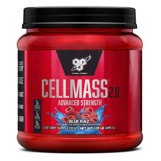 Cellmass 2.0 By BSN - Blue Raz - 25 Servings