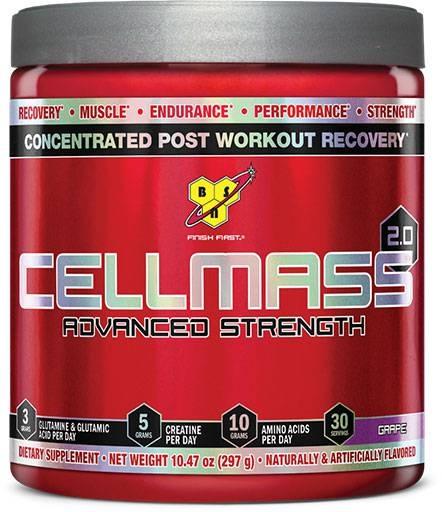 Cellmass 2.0 By BSN, Grape 30 Servings