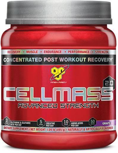 Cellmass 2.0 By BSN, Grape 50 Servings