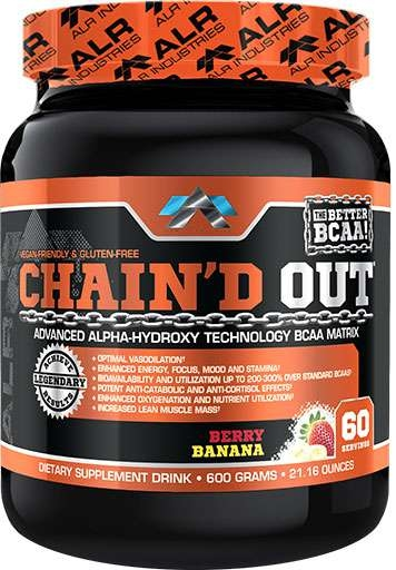 Chain'd Out, By ALRI, Berry Banana, 60 Servings,