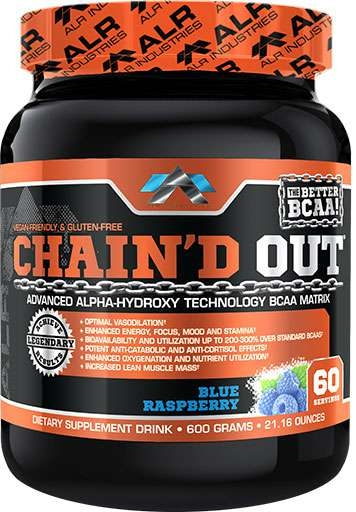 Chain'd Out, By ALRI, Blue Raspberry, 60 Servings,