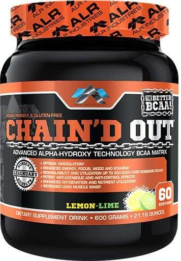 Chain'D Out By ALRI, Lemon Lime, 60 Servings