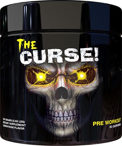 The Curse Pre Workout - Lemon Rush - 250 Grams