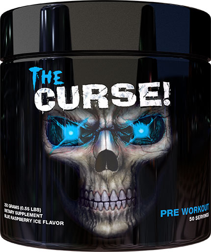 The Curse Pre Workout - Blue Raspberry Ice - 250 Grams
