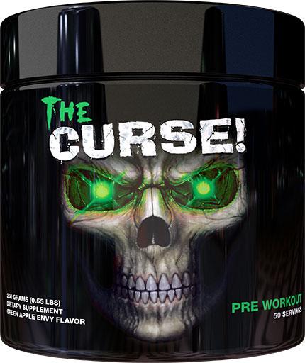 The Curse Pre Workout - Green Apple Envy - 250 Grams