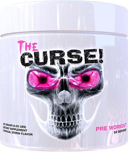 The Curse Pre Workout - Tropical Storm - 250 Grams