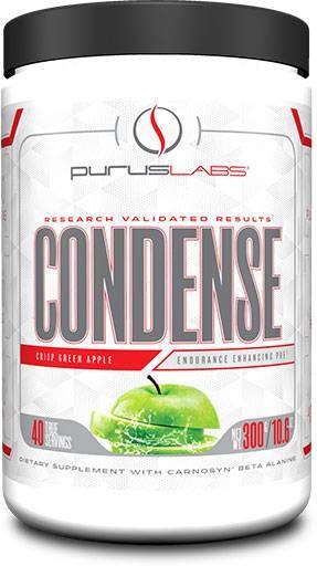 Purus Labs Condense Pre-Workout, Crisp Apple 40 Servings