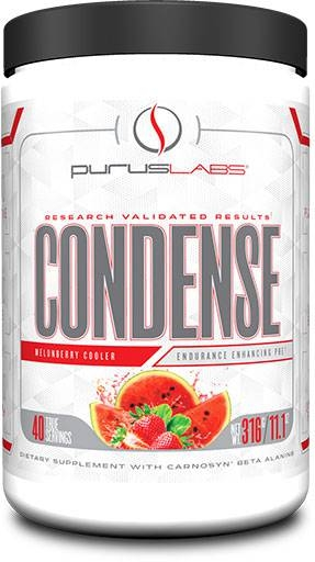 Purus Labs Condense Pre-Workout, Melonberry Cooler 40 Servings