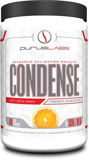Purus Labs Condense Pre-Workout, Natural Florida Orange, 40 Servings