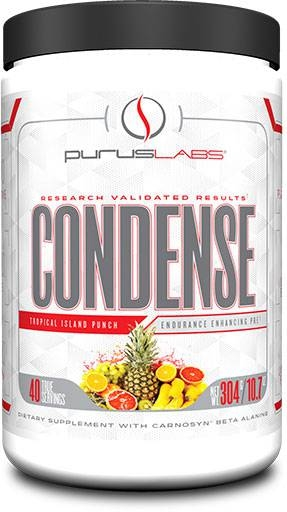 Purus Labs Condense Pre-Workout, Island Punch 40 Servings