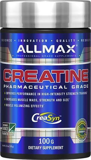 Creatine Monohydrate By Allmax Nutrition, 100 Grams