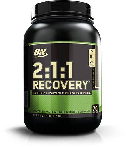 Optimum Nutrition 2:1:1 Recovery, Colossal Chocolate, 3.73lb