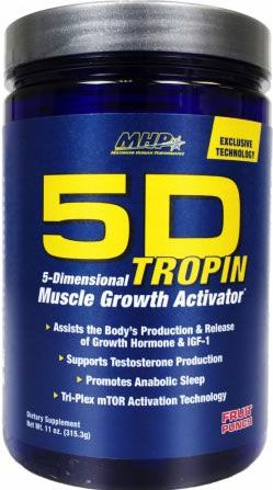 5D-Tropin By MHP, Fruit Punch 30 Servings