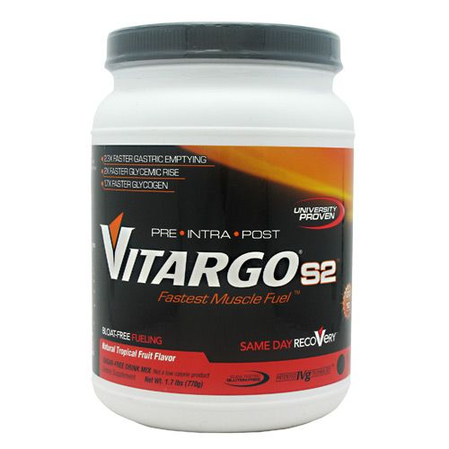 Vitargo S2, By Genr8, Natural Tropical Fruit, 10 Servings, Image