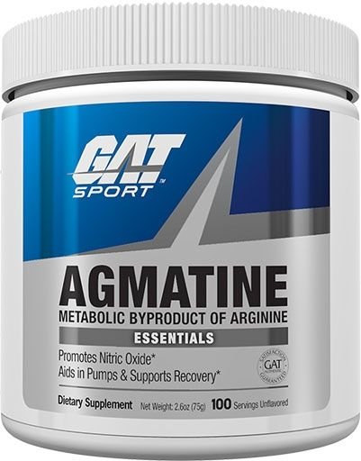 Agmatine, By GAT, Unflavored, 75 Grams