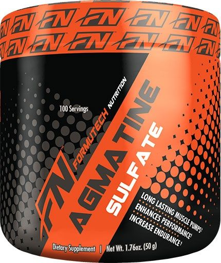 Agmatine Sulfate, Formutech Nutrition, 50 Grams