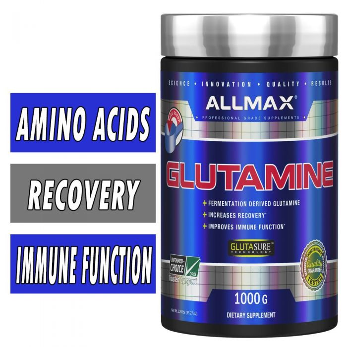 Glutamine Powder By Allmax Nutrition