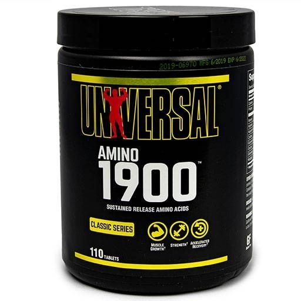 Amino 1900, Universal Nutrition, 110 Tabs