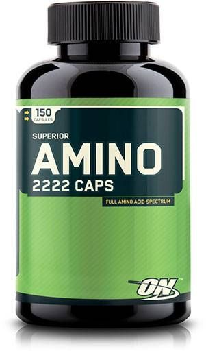 Superior Amino 2222, Optimum Nutrition, 150 Caps