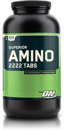 Superior Amino 2222, Optimum Nutrition, 320 Tabs