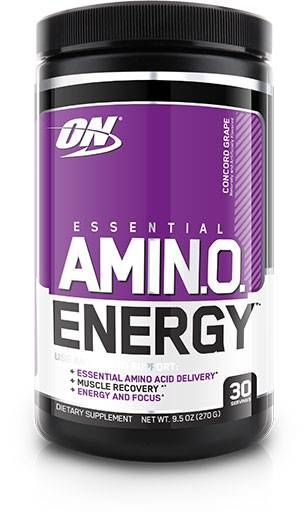 ON Essential Amino Energy, Concord Grape, 30 Servings
