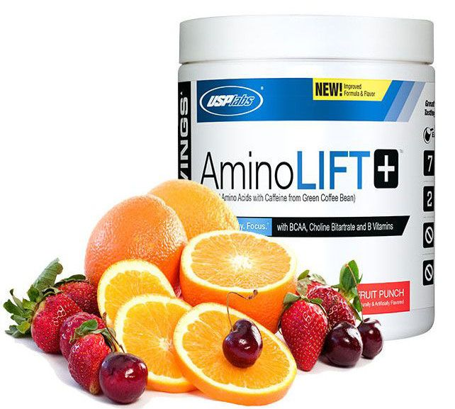 Amino Lift By USP Labs, Fruit Punch 30 Servings