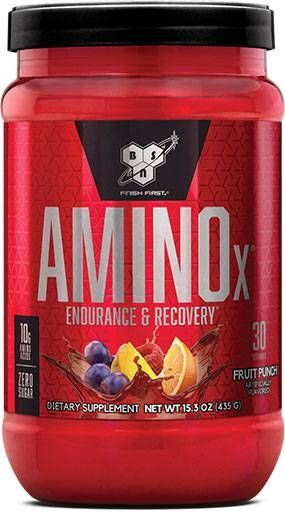 Amino X by BSN, Fruit Punch, 30 Servings