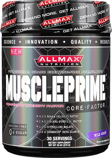 MusclePrime By Allmax Nutrition, Wild Grape 570 Grams