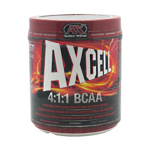 Athletic Xtreme Axcell Refreshing Arctic Berry 40 Servings BCAA