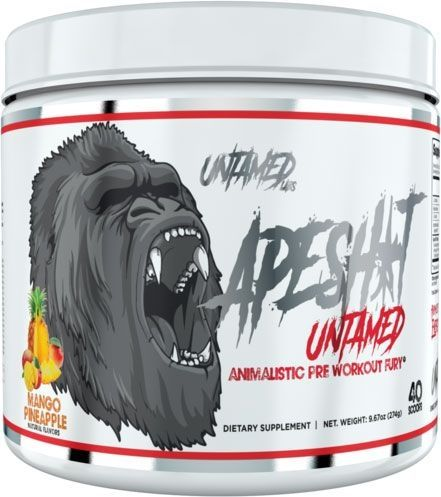 Ape Shit Pre Workout - Mango Pineapple - 40 Servings