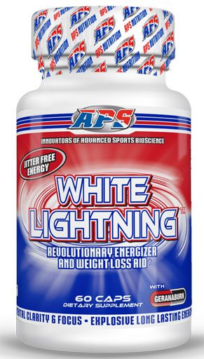 APS Nutrition White Lighting 60 Caps