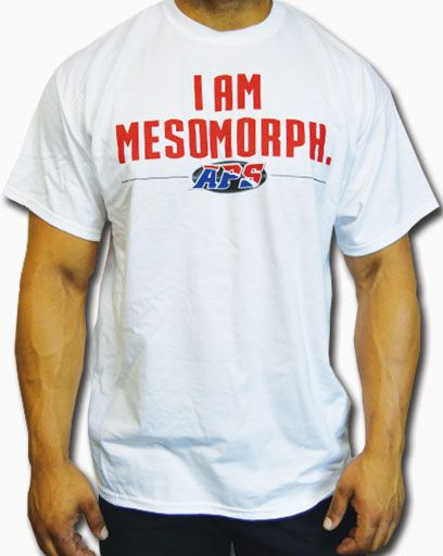 APS Nutrition, I Am Mesomorph, Large, T-Shirt, Image