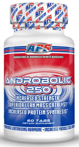 Androbolic 250 By APS Nutrition, 60 Tabs