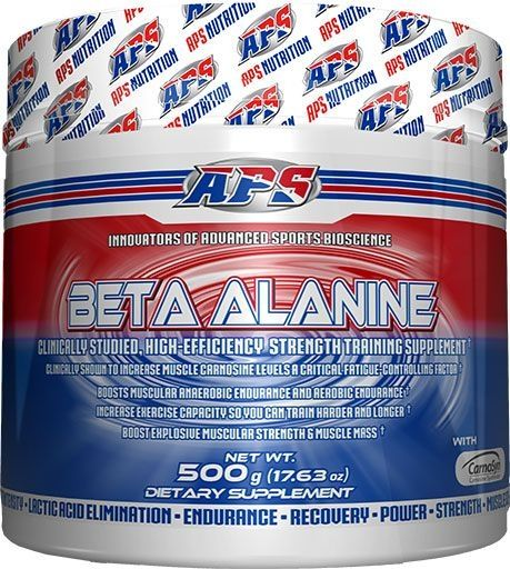 APS Nutrition Beta Alanine, 500 Grams