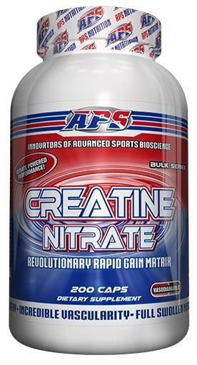 APS Nutrition Creatine Nitrate, 200 Caps