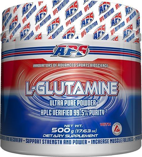 APS Nutrition L-Glutamine, 500 Grams