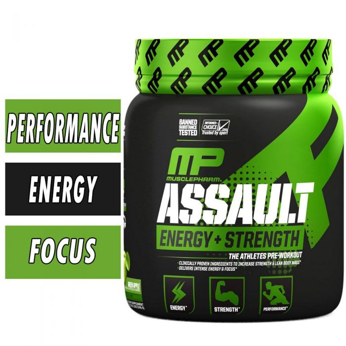 Muscle Pharm Assault Sport Pre Workout