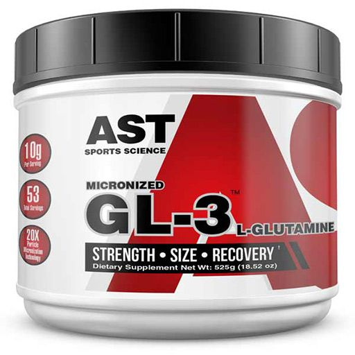 GL3 L-Glutamine By AST Sports Science - 525 Grams