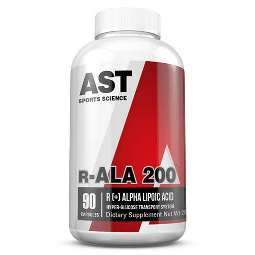 AST Sports Science r-ALA (Alpha Lipoic Acid) 90 Caps