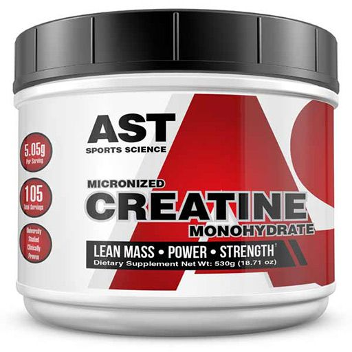 Micronized Creatine By AST Sports Science, 525 Grams