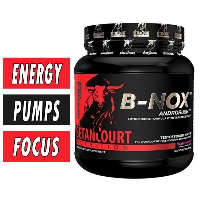 Bullnox Androrush by Betancourt Nutrition, Pre Workout