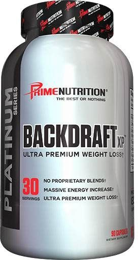 BackDraft-XP By Prime Nutrition, 90 Caps