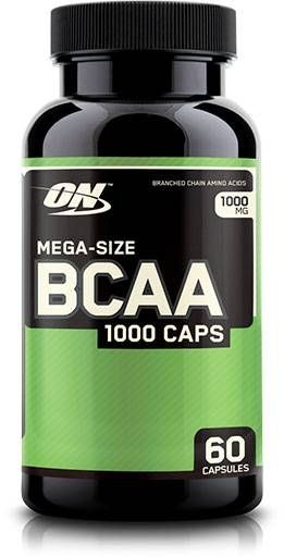 BCAA 1000 by Optimum Nutrition, 60 Caps